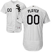 Majestic Men's Full Roster Authentic Chicago White Sox Flex Base Home White On-Field Jersey