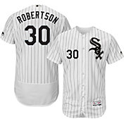 Majestic Men's Authentic Chicago White Sox David Robertson #30 Home White Flex Base On-Field Jersey