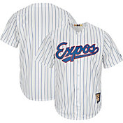 Majestic Men's Replica Montreal Expos Cool Base White Cooperstown Jersey