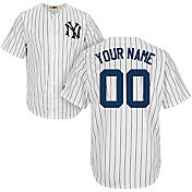 Majestic Men's Custom Cool Base Cooperstown Replica New York Yankees 1951-52 White Jersey