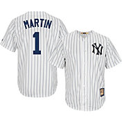 Majestic Men's Replica New York Yankees Billy Martin Cool Base White Cooperstown Jersey