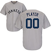 Majestic Men's Full Roster Cool Base Cooperstown Replica New York Yankees 1927 Grey Jersey