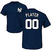 Majestic Men's Full Roster New York Yankees Navy T-Shirt