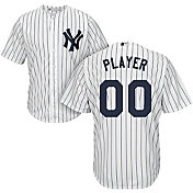 Majestic Men's Full Roster Cool Base Replica New York Yankees Home White Jersey