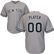 Majestic Men's Full Roster Cool Base Replica New York Yankees Road Grey Jersey