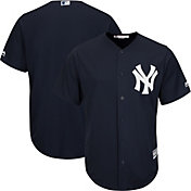 Majestic Men's Replica New York Yankees Cool Base Alternate Navy Jersey