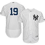 Majestic Men's Authentic New York Yankees Masahiro Tanaka #19 Home White Flex Base On-Field Jersey