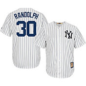 Majestic Men's Replica New York Yankees Willie Randolph Cool Base White Cooperstown Jersey