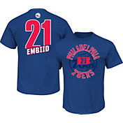 Majestic Men's Philadelphia 76ers Joel Embiid #21 Royal T-Shirt