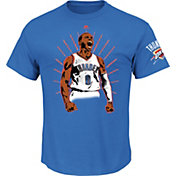 Majestic Men's Oklahoma City Thunder Russell Westbrook Light Blue T-Shirt