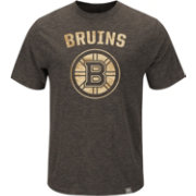 Majestic Men's Boston Bruins Brown Hours T-Shirt