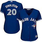 Majestic Women's Replica Toronto Blue Jays Josh Donaldson #20 Cool Base Alternate Royal Jersey