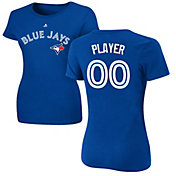Majestic Women's Full Roster Toronto Blue Jays Royal T-Shirt