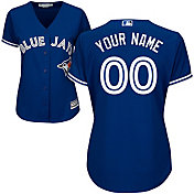 Majestic Women's Custom Cool Base Replica Toronto Blue Jays Alternate Royal Jersey