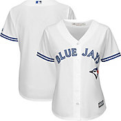 Majestic Women's Replica Toronto Blue Jays Cool Base Home White Jersey