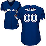 Majestic Women's Full Roster Cool Base Replica Toronto Blue Jays Alternate Royal Jersey
