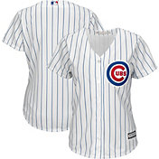 Majestic Women's Replica Chicago Cubs Cool Base Home White Jersey