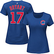Majestic Women's Chicago Cubs Kris Bryant #17 Royal T-Shirt