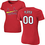 Majestic Women's Full Roster St. Louis Cardinals Red T-Shirt