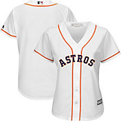 Majestic Women's Replica Houston Astros Cool Base Home White Jersey
