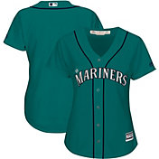Majestic Women's Replica Seattle Mariners Cool Base Alternate Teal Jersey