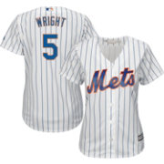 Majestic Women's Replica New York Mets David Wright #5 Cool Base Home White Jersey