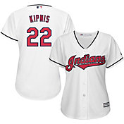 Majestic Women's Replica Cleveland Indians Jason Kipnis #22 Cool Base Home White Jersey