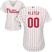 Majestic Women's Full Roster Cool Base Replica Philadelphia Phillies Home White Jersey