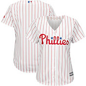 Majestic Women's Replica Philadelphia Phillies Cool Base Home White Jersey