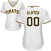 Majestic Women's Full Roster Cool Base Replica Pittsburgh Pirates Home White Jersey