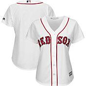 Majestic Women's Replica Boston Red Sox Cool Base Home White Jersey