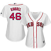 Majestic Women's Replica Boston Red Sox Craig Kimbrel #46 Cool Base Home White Jersey