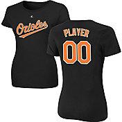 Majestic Women's Full Roster Baltimore Orioles Black T-Shirt