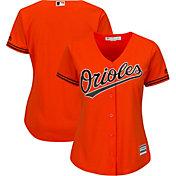 Majestic Women's Replica Baltimore Orioles Cool Base Alternate Orange Jersey