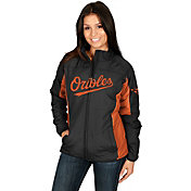 Majestic Women's Baltimore Orioles Double Climate On-Field Black Jacket