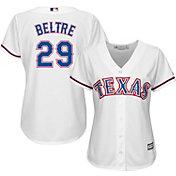 Majestic Women's Replica Texas Rangers Adrian Beltre #29 Cool Base Home White Jersey