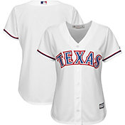 Majestic Women's Replica Texas Rangers Cool Base Home White Jersey