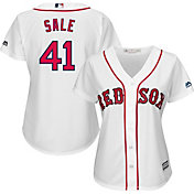 Majestic Women's Replica Boston Red Sox Chris Sale #41 Cool Base Home White Jersey