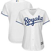 Majestic Women's Replica Kansas City Royals Cool Base Home White Jersey
