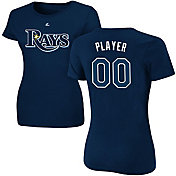 Majestic Women's Full Roster Tampa Bay Rays Navy T-Shirt
