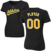 Majestic Women's Full Roster Oakland Athletics Black T-Shirt