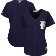 Majestic Women's Replica Detroit Tigers Cool Base Alternate Navy Jersey