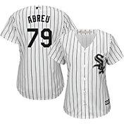 Majestic Women's Replica Chicago White Sox Jose Abreu #79 Cool Base Home White Jersey
