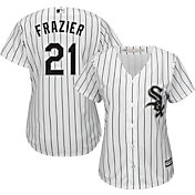 Majestic Women's Replica Chicago White Sox Todd Frazier #21 Cool Base Home White Jersey