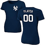 Majestic Women's Full Roster New York Yankees Navy T-Shirt