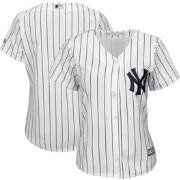 Majestic Women's Replica New York Yankees Cool Base Home White Jersey