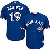 Majestic Youth Replica Toronto Blue Jays Jose Bautista #19 Cool Base Alternate Royal Jersey