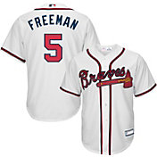 Majestic Youth Replica Atlanta Braves Freddie Freeman #5 Cool Base Home White Jersey