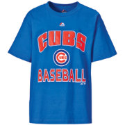 "Majestic Youth Chicago Cubs Royal ""Cubs Baseball"" T-Shirt"