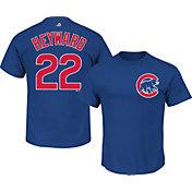 Majestic Youth Chicago Cubs Jason Heyward #22 Royal T-Shirt